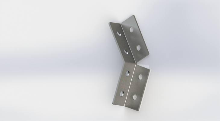 直角双面连接件